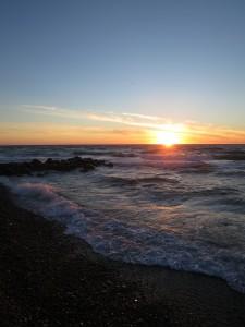 Og solnedgangen skal selvfølgelig nydes...